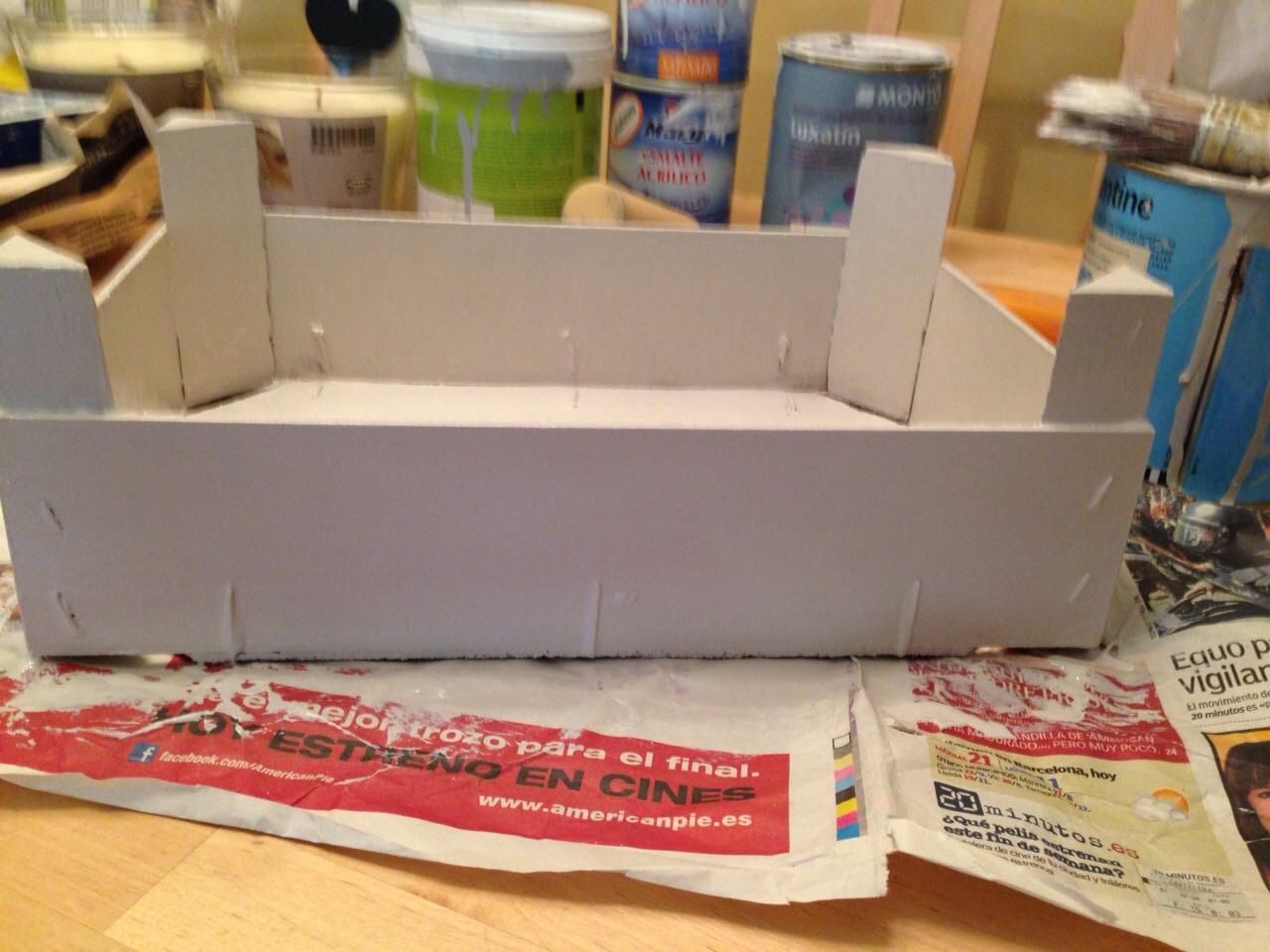 Manualidades manualidades decorar cajas de madera - Cajas madera para manualidades ...