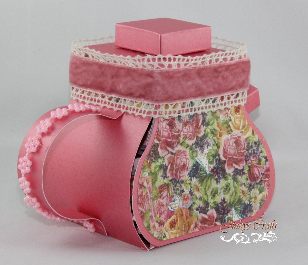 Jinky\'s Crafts & Designs: Tea Pot Exploding Box Invitation