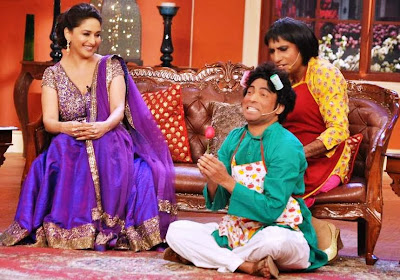Madhuri Dixit In Comedy Night With Kapil A Laughter Video Episode