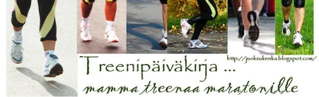 TREENIPÄIVÄKIRJA ... maratonille