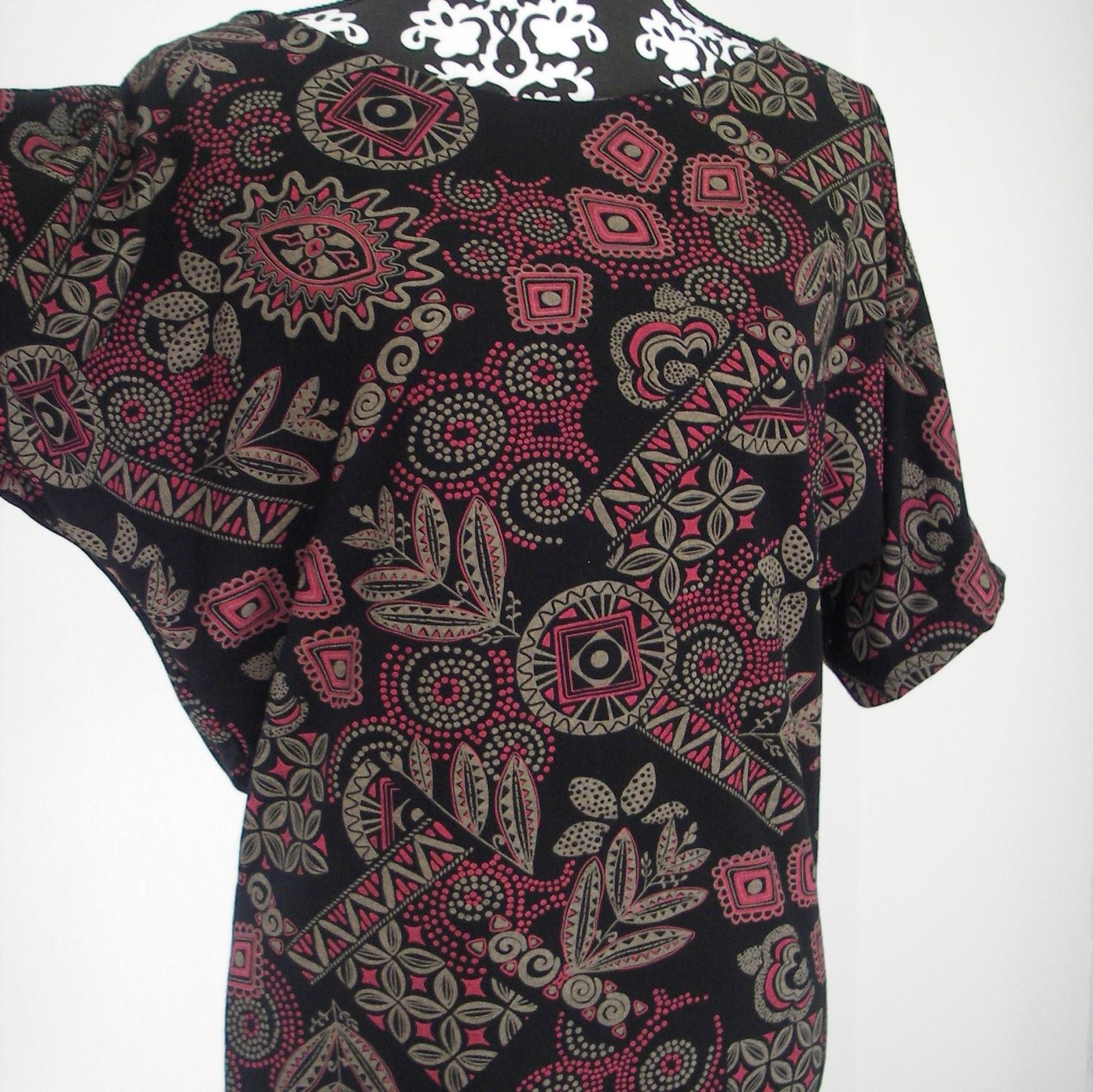 Gratisanleitung für Shirt mit Fledermaus-Ärmel | Schnittmuster und ...