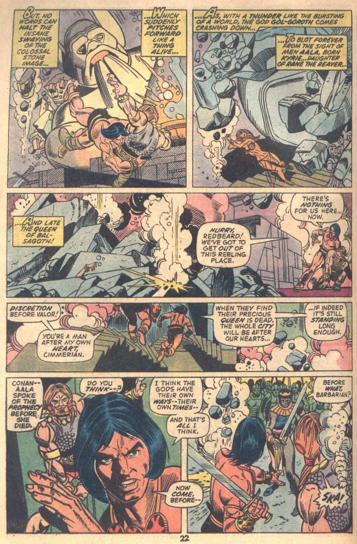 Conan the Barbarian (1970) Issue #18 #30 - English 17