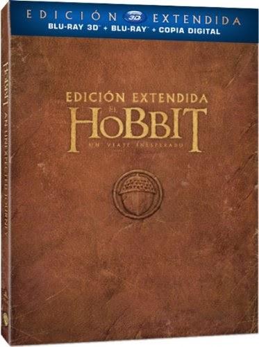 El Hobbit: Un Viaje Inesperado (Edición Extendida) blue-ray