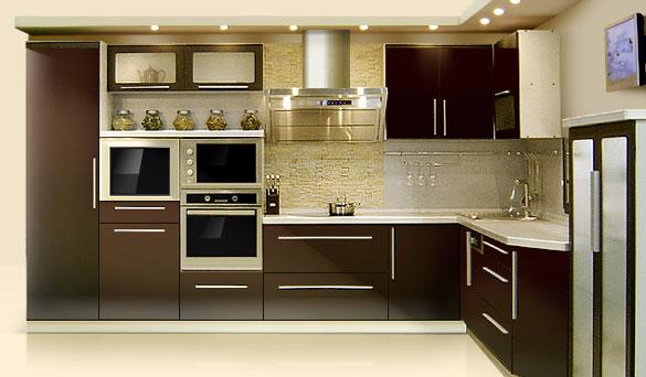 Дизайн дверей для кухни