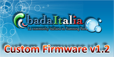 BadaItalia released Custom Firmware v 1.2 for Wave S8500