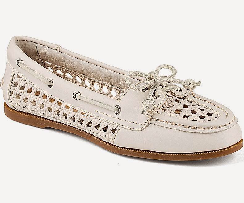 Sperry Top-Sider Audrey Cane Woven Slip-On Boat Shoe
