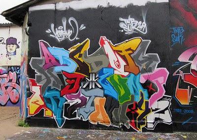 Paint Mural Graffiti Alphabet : Graffiti Letter A-Z Street art