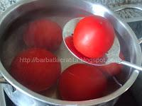 Tocana de ardei si rosii preparare reteta