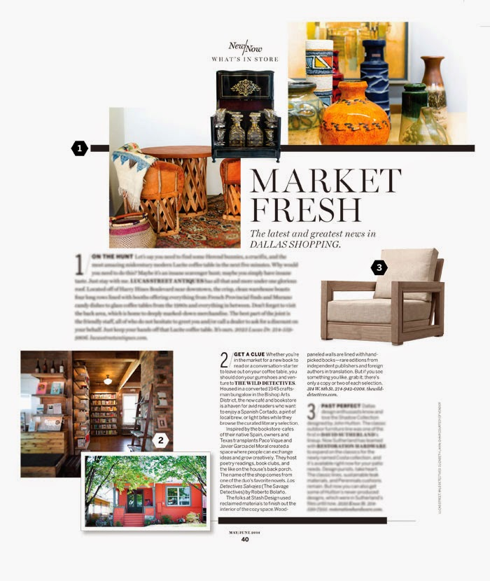Margaux Anbouba May June Issue Of D Home Market Fresh