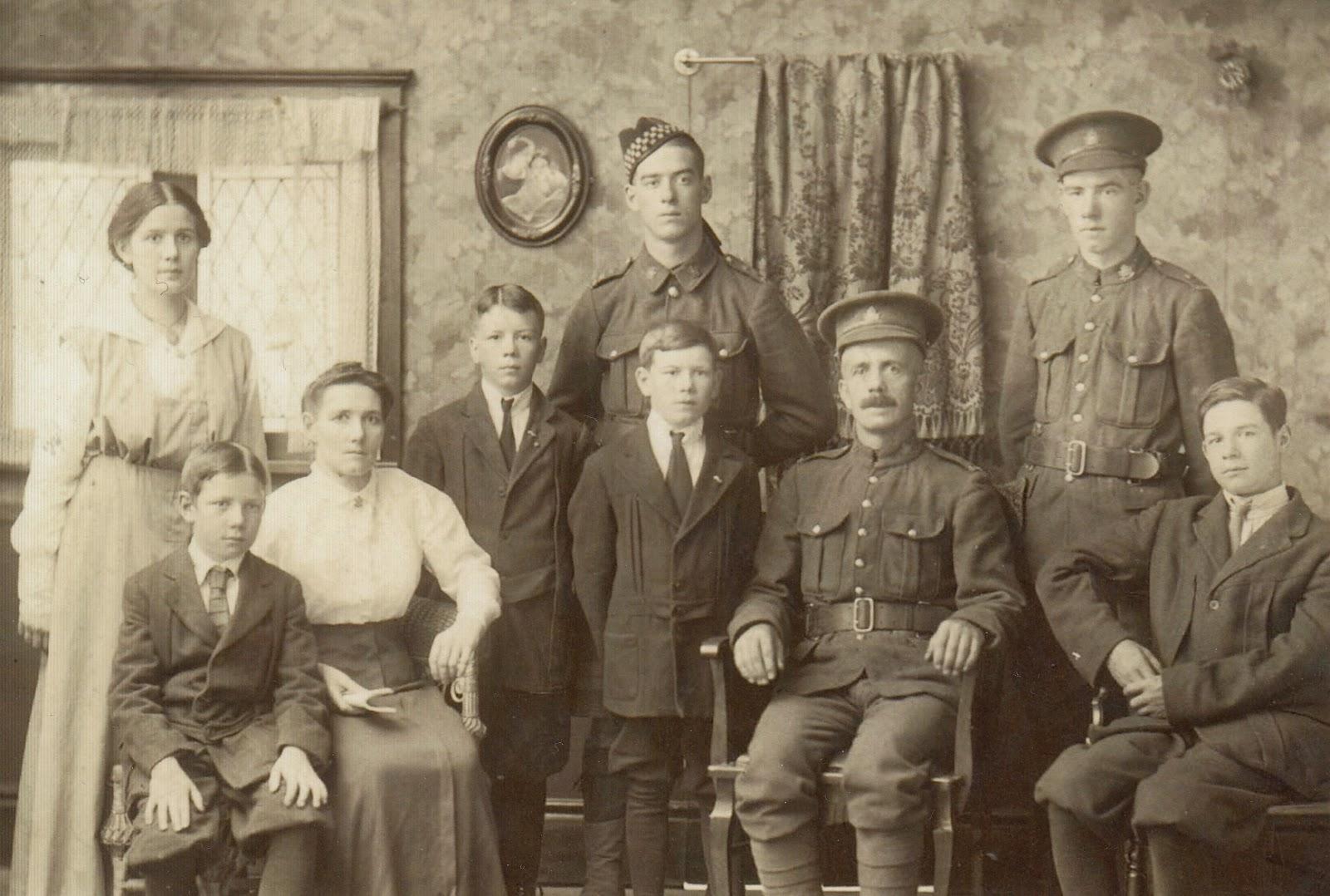 Sandercock Family 1916