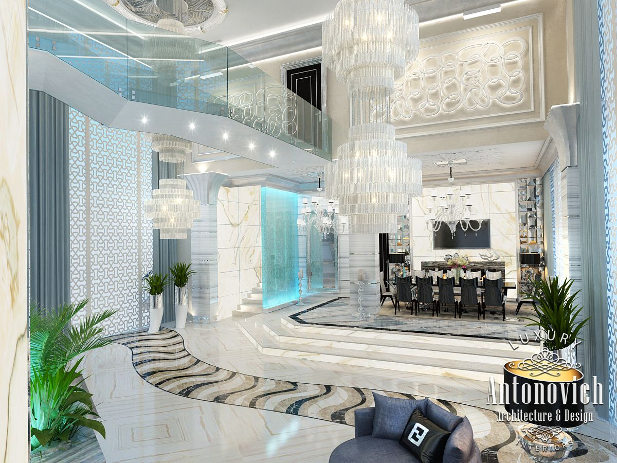 Luxury antonovich design uae interior