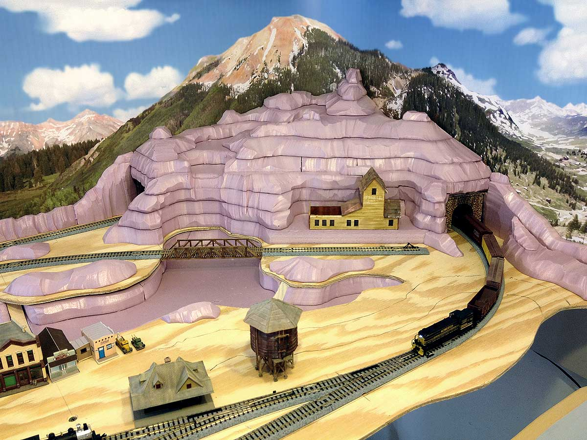 Thunder Mesa Mining Co Building Mountains On The N Scale