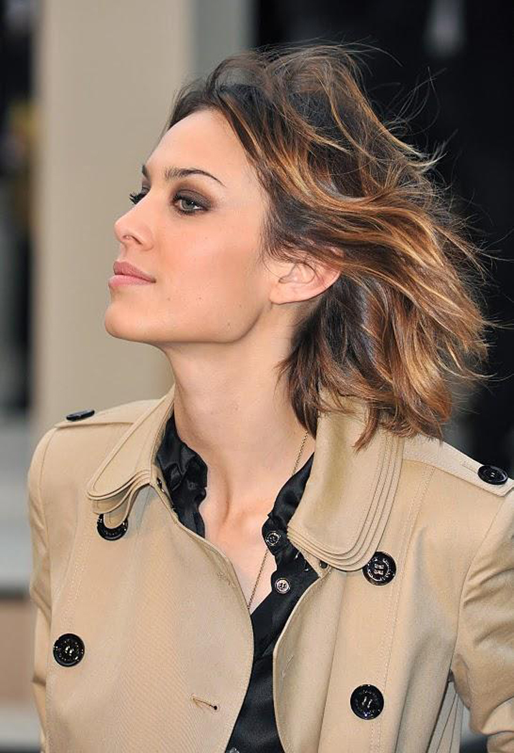 Alexa Chung Hair Color 2