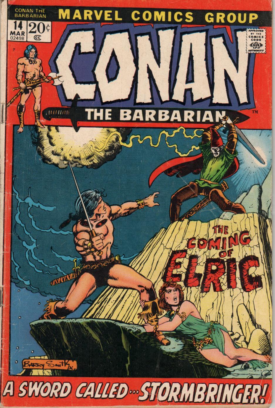 Conan the Barbarian (1970) 14 Page 1