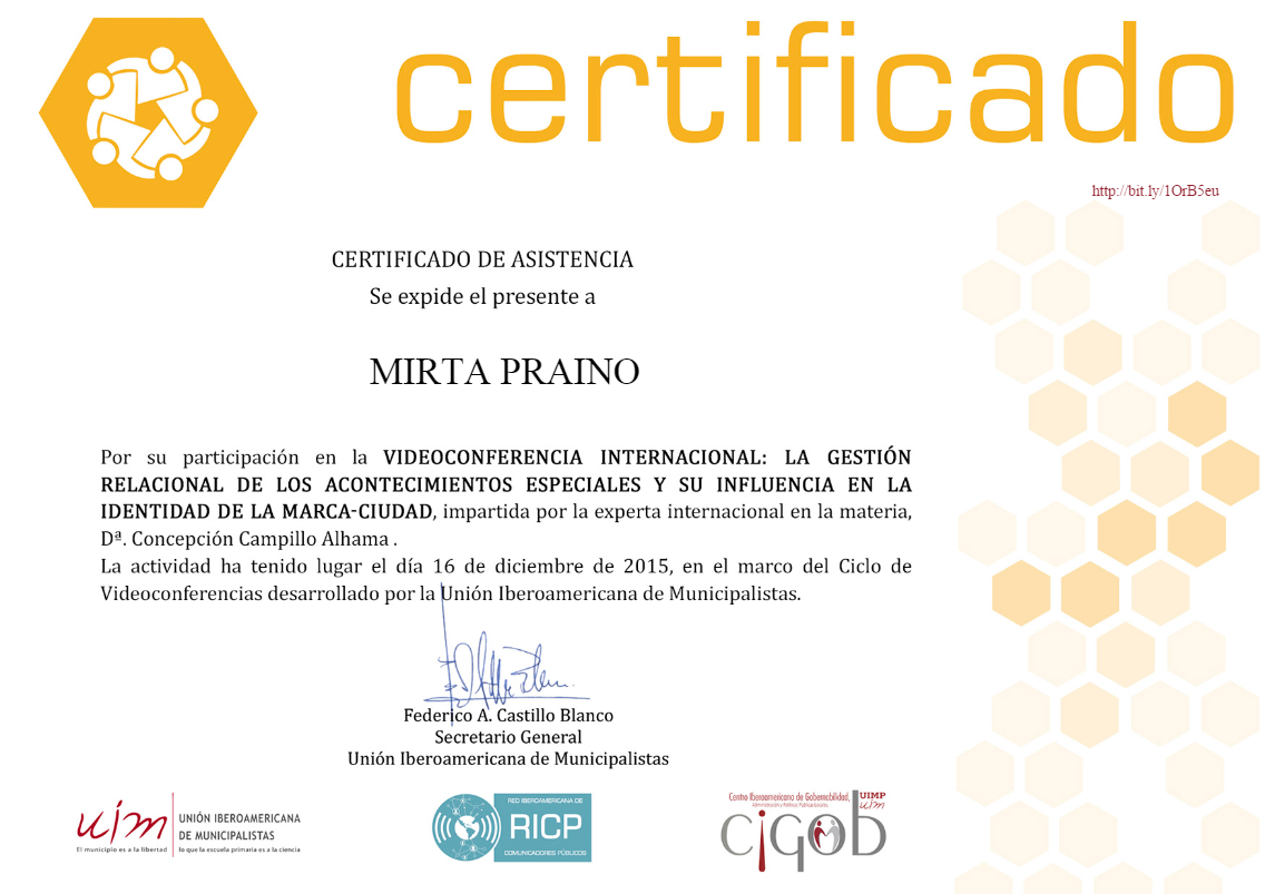 Certificado UIM