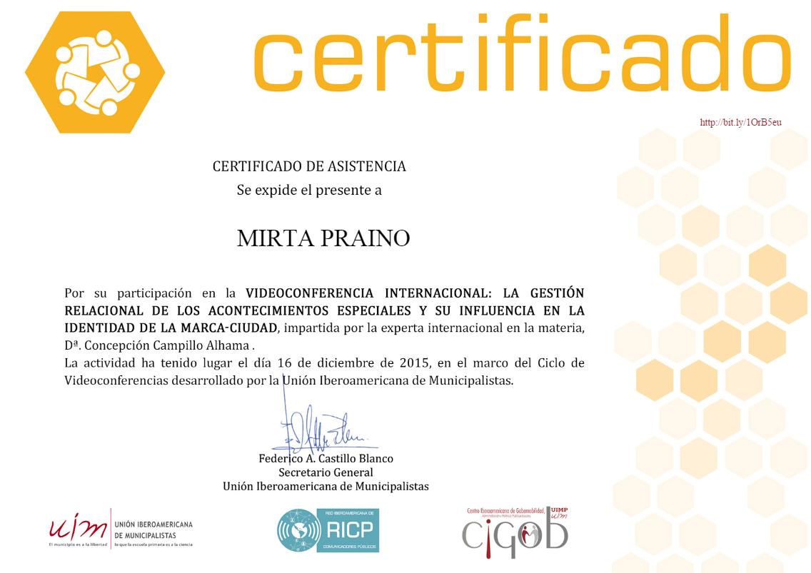 Certificado UIM