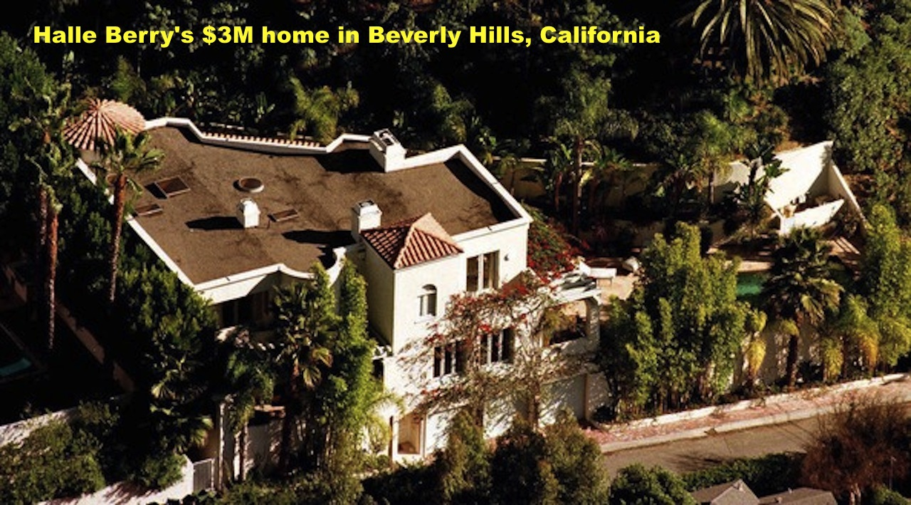 Cyber info halle berry 39 s multi millions mansions for Celebrities that live in hollywood hills