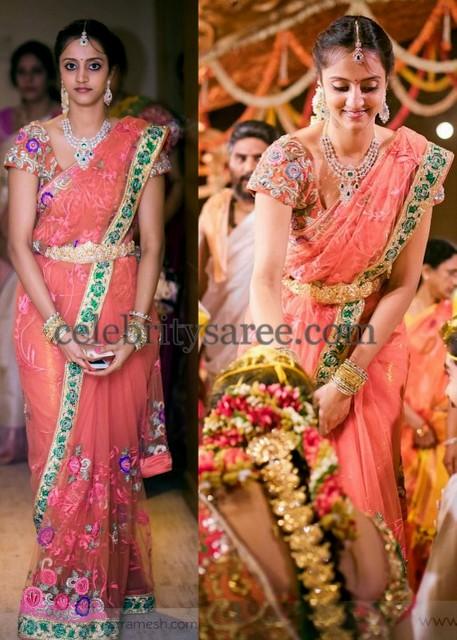 Lakshmi Pranathi Designer Saree