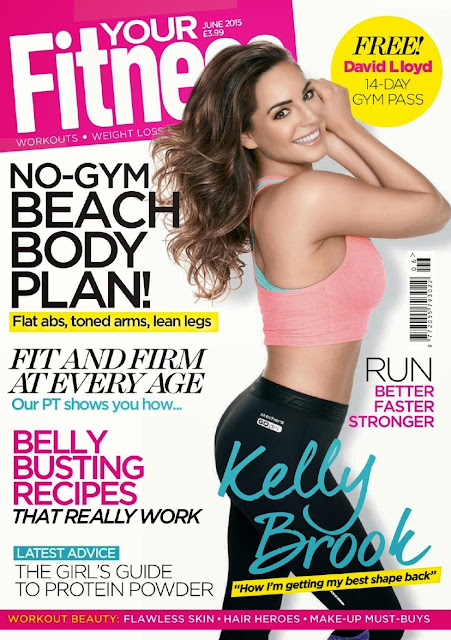 Model, Actress @ Kelly Brook - Your Fitness UK, June 2015