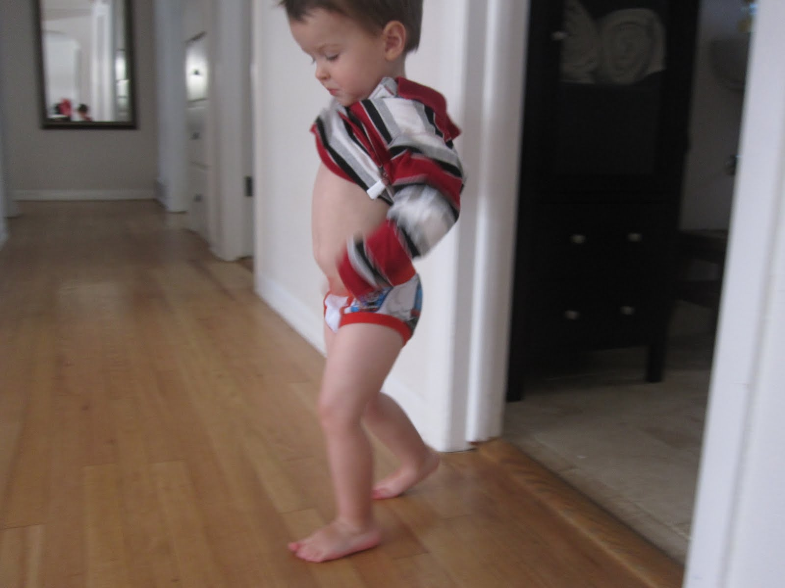 A Day Out in Big-Boy Underwear