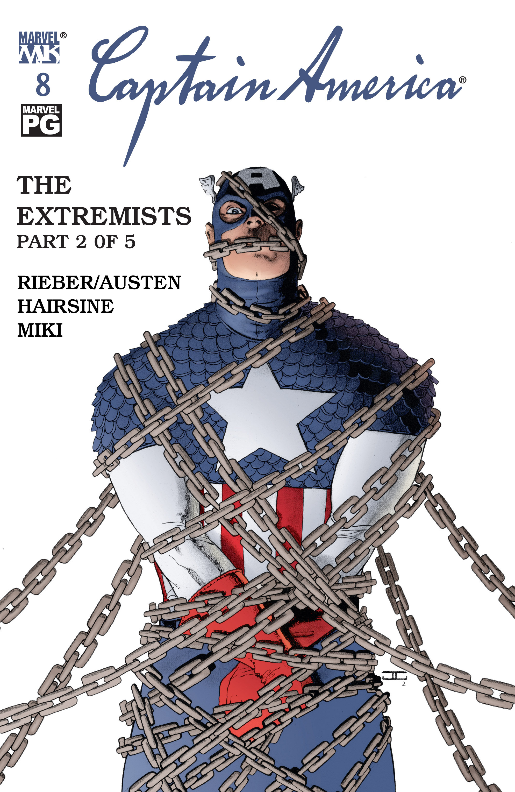 Captain America (2002) Issue #8 #9 - English 1