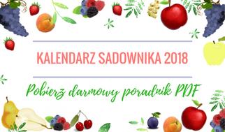 KALENDARZ SADOWNIKA 2018