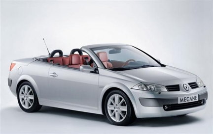 Presenting The Silver Renault Megane Cabriolet For Rent! Its Compact And  Fun To Use During Weddings Or Just A Weekend Out With Your Friends And  Family! It ...