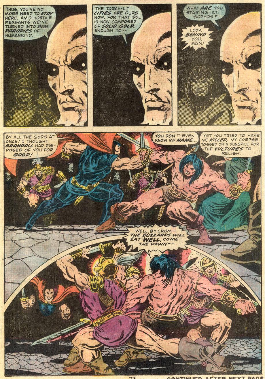 Conan the Barbarian (1970) Issue #64 #76 - English 16
