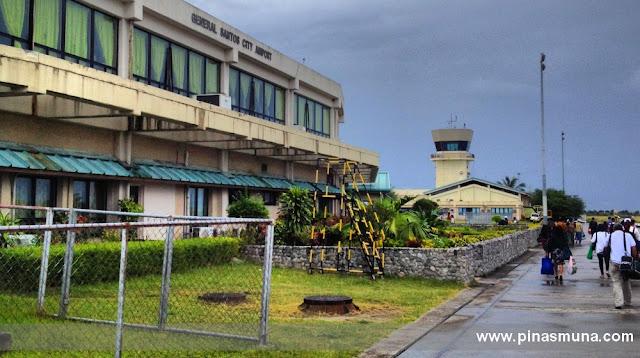 passengers arriving at General Santos International Airport