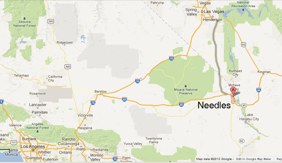 Gas Prices In California >> needles california map – bnhspine.com