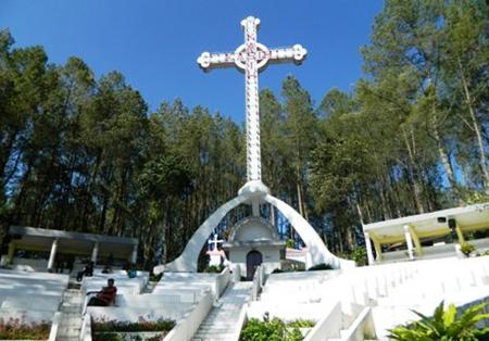 Taman Wisata Rohani Salib Kasih Sumatera Utara