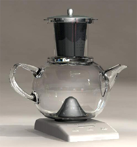 Unique Tea Kettles ~ Unusual teapots and beautiful kettle designs part