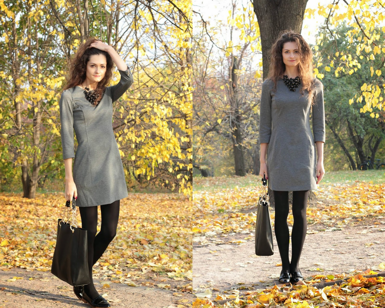 Grey dress Love Republic