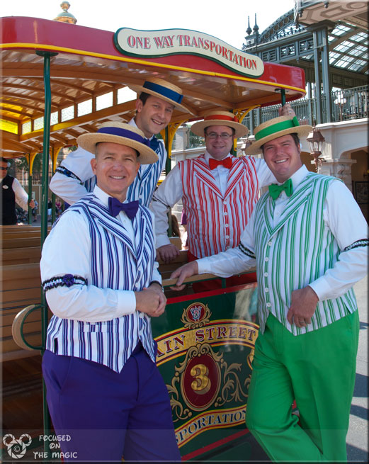 The Dapper Dans, Magic Kingdom