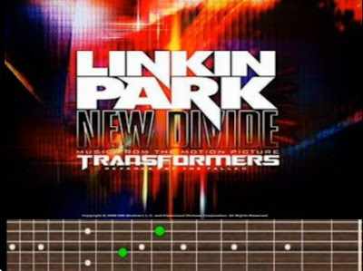 New Divide Linkin Park Chords Tab Cover Album