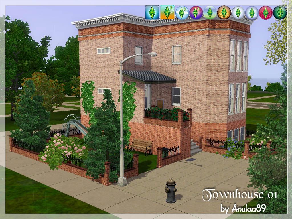 Как сделать многоквартирный дом в симс 3