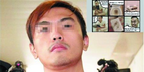 Pria Ini Melakukan Hal Keji yang Sangat Menghina Islam