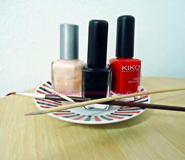 materiais para nail art