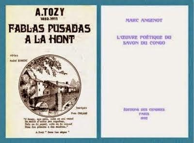 Antony Tozy et Marc Angenot