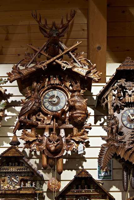 Perhaps I'll bring home of these authentic Germany cuckoo clocks! It's time! (pun intended). Photo: © German National Tourist Office. Unauthorized use is prohibited.