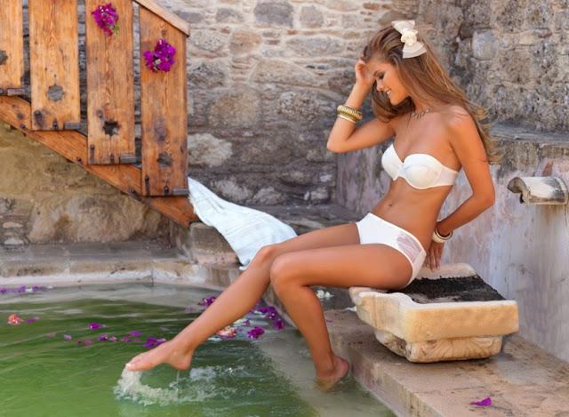 "Nina Agdal – ""Yeni Inci"" Lingerie Photoshoot"