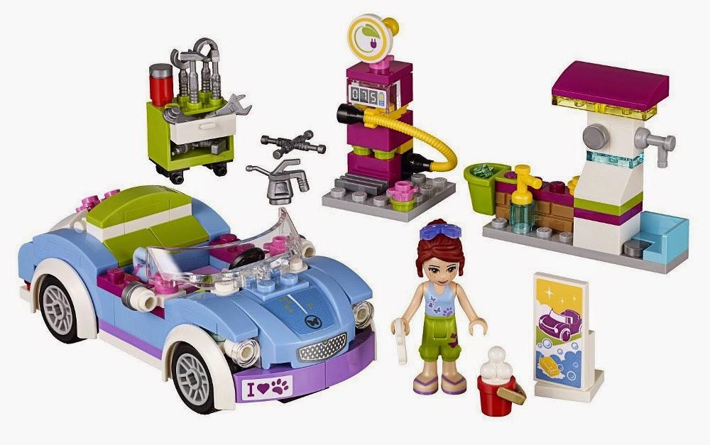 JUGUETES - LEGO Friends  41091 Coche Deportivo de Mia  Producto Oficial | Edad: 6-12 años