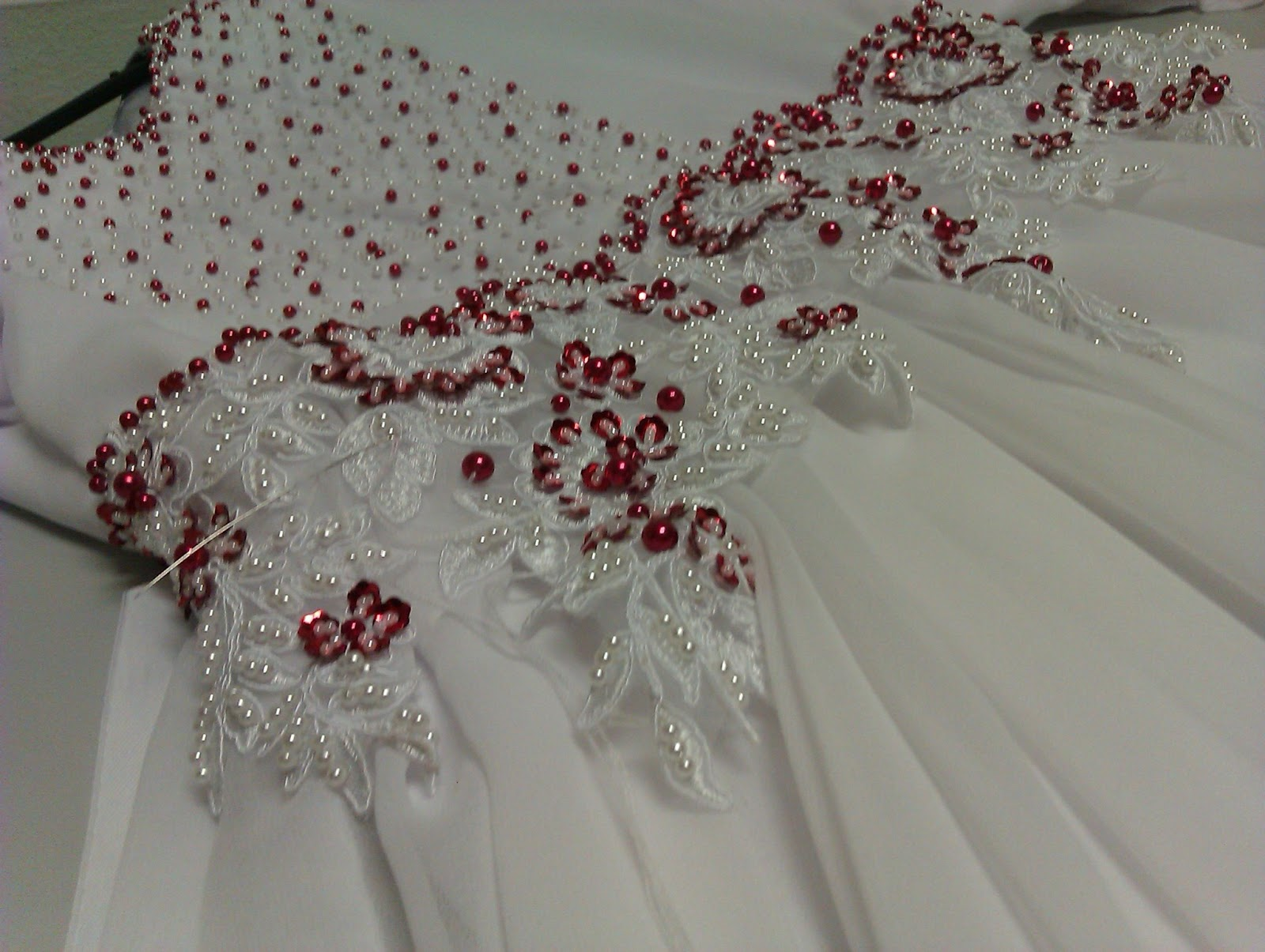 SULAM MANIK DAN LABUCI WEDDING DRESS | manik manik manik