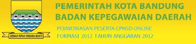 Penerimaan CPNSD Kota Bandung Tahun 2012 Dokter Umum dan Dokter Spesialis