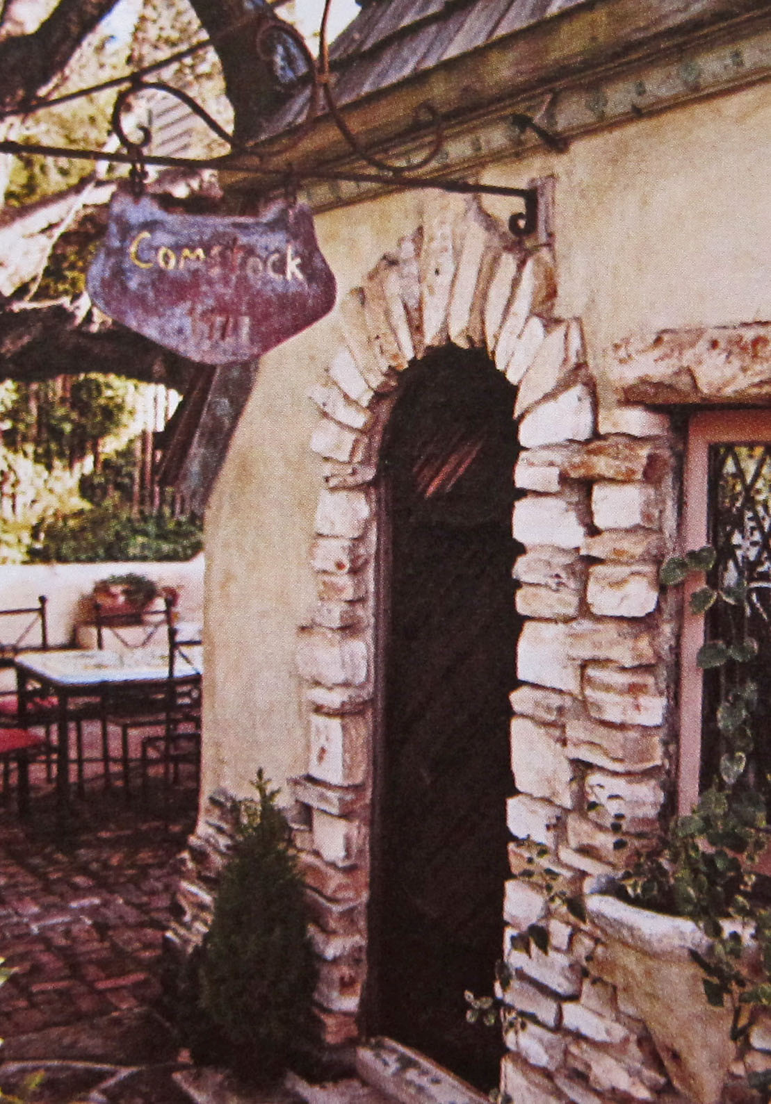 Carmel by the sea fairy tale cottages of hugh comstock for Fairy front door