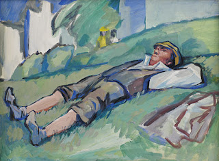 Don Freeman: Man Resting in Park