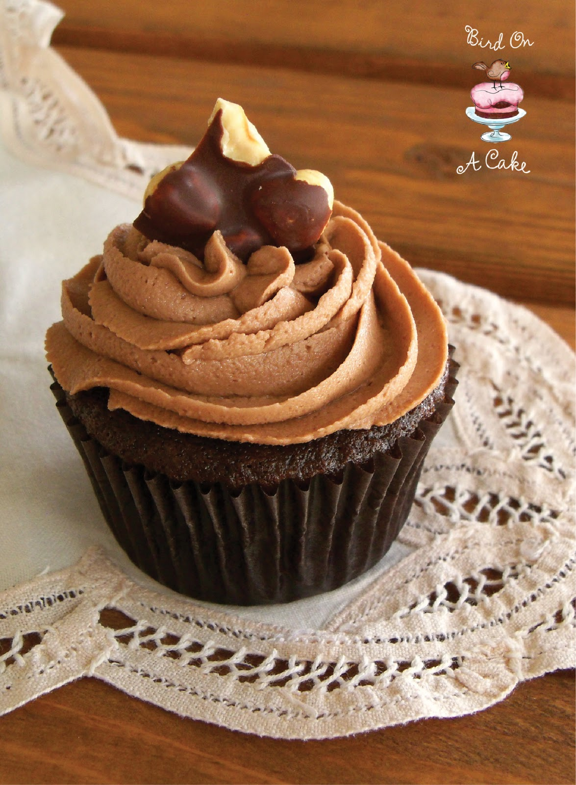 Bird On A Cake: Triple Chocolate Malt Cake