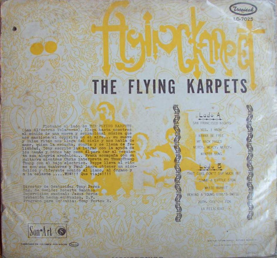 The Flying Karpets Flying Karpet
