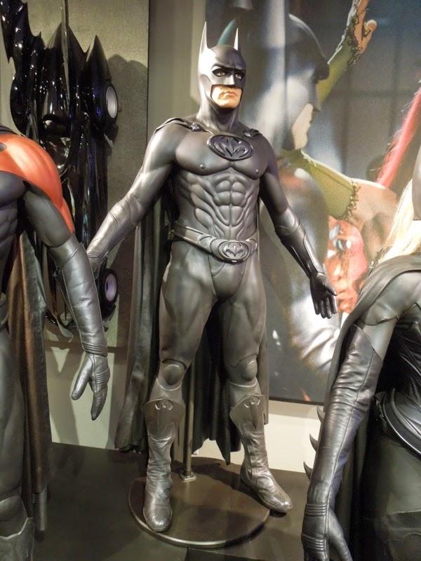 George Clooney Bat-suit Batman and Robin
