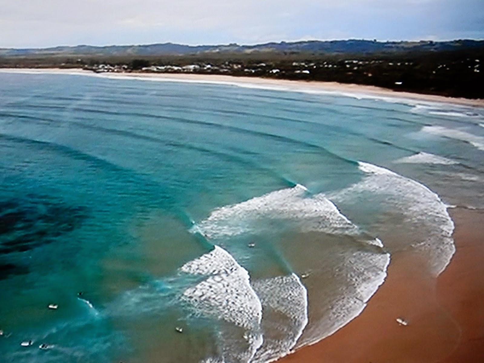 Byron Bay coastline, Australia